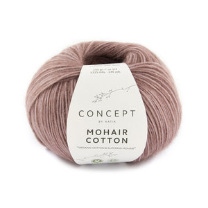 Katia Mohair Cotton 75 - Medium Bleekrood