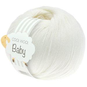 Lana Grossa Cool Wool Baby 207 - Wit