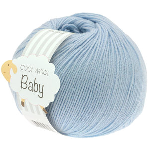 Lana Grossa Cool Wool Baby 208 - Licht Blauw