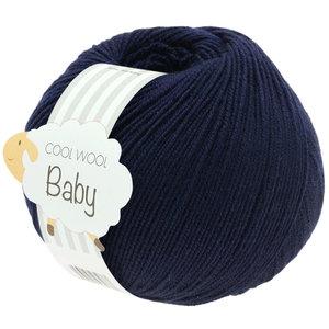 Lana Grossa Cool Wool Baby 210 - Nacht Blauw