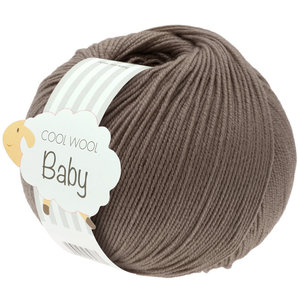 Lana Grossa Cool Wool Baby 211 - Grijs Bruin