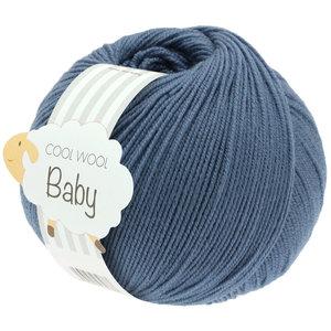 Lana Grossa Cool Wool Baby 263 - Duifblauw