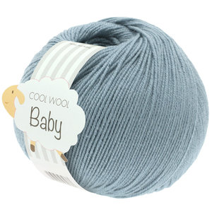 Lana Grossa Cool Wool Baby 264 - Grijs Blauw