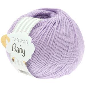 Lana Grossa Cool Wool Baby 268 - Licht Paars