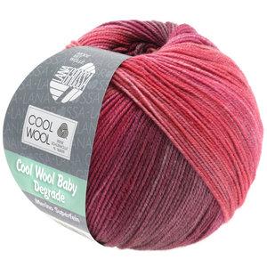 Lana Grossa Cool Wool Baby Dégradé 507 - Bes/Antiek violet/Framboos