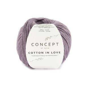 Katia Cotton In Love 54 - Aubergine
