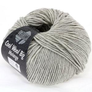 Lana Grossa Cool Wool Big 616 - Licht Grijs Gemêleerd