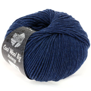 Lana Grossa Cool Wool Big 655 - Donker Blauw