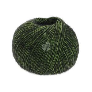 Lana Grossa Puno Due 010 - Groen/Zwart