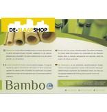 Matras pocketvering latex 350 bamboe 100x220