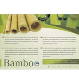 Koudschuim topmatras bamboe 160x210