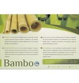 Koudschuim topmatras bamboe 90x220