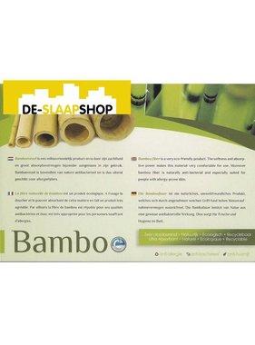 Matras pocketvering koudschuim 350 bamboe 160x220