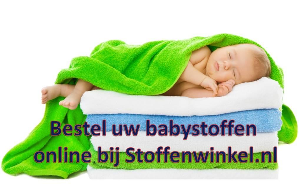 Babystoffen geboortedag