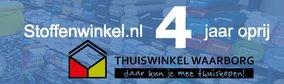 Stoffenwinkel 4e jaar oprij Thuiswinkel Waarborg gecertificeerd!