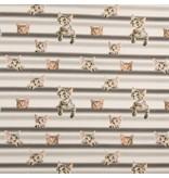 Qjutie Kids Collection Tricot stof QjuTie digitaal bedrukt katoen jersey cats on line 155 cm breed