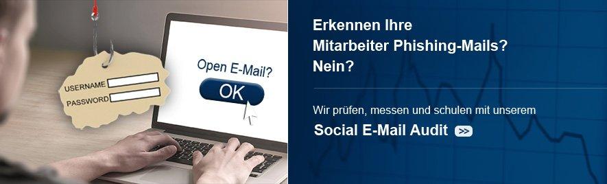 Social E-Mail-Audit