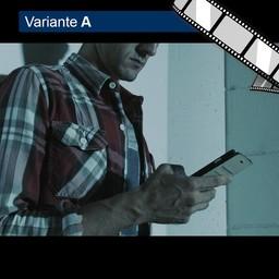 """Video """"Trojaner kam per SMS"""" szenisch"""
