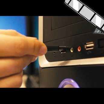"moderiertes Video ""Fremde USB-Sticks"""