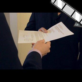 """szenisches Video """"Dokumente schreddern, einfach"""""""