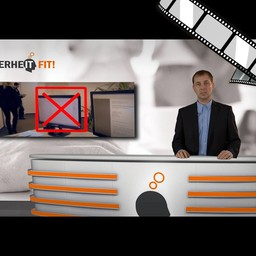 "Video ""Best of Clean Desk Policy"" szenisch und moderiert"
