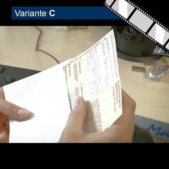 """szenisches Video """"E-Mails sind wie Postkarten"""""""