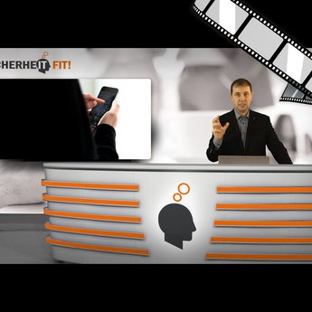 """moderiertes Video """"Zugangssicherheit beim iPhone"""""""