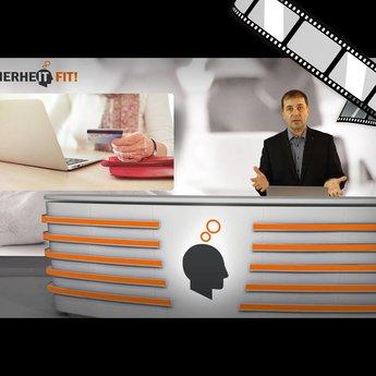 """moderiertes Video """"Facebook-App auf dem Smartphone"""""""