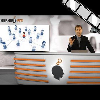 """moderiertes Video """"Soziale Netze als Angriffsvorbereitung auf Unternehmensnetze"""""""