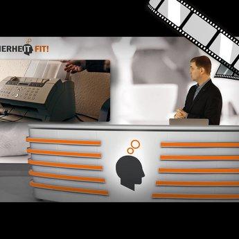 """moderiertes Video """"Abteilungsfax"""""""