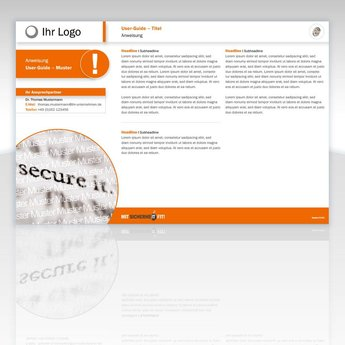 """User-Guide """"Meeting beim Kunden – Sicherheitsmaßnahmen"""""""