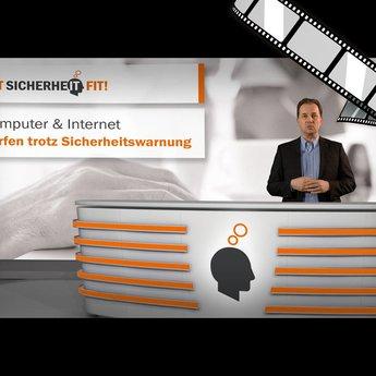 """moderiertes Video """"Surfen trotz Sicherheitswarnung"""""""