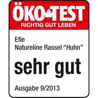 Efie Efie Rassel Huhn rot, Ökotest getestet