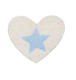 Efie Efie Dinkel-Wäremekissen Herz mit Stern