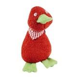 Efie Efie Spiel- und Kuschel-Ente rot, Biobaumwolle