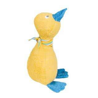 Efie Efie Spiel- und Kuschel-Ente gelb, Biobaumwolle