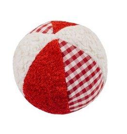 Efie Efie Rassel Ball rot/weiß kbA