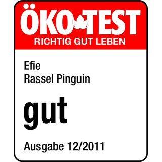Efie Efie Rassel Pinguin, Ökotest getestet