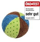 Efie Efie Rassel Ball blau, Ökotest getestet