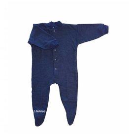 Cosilana Cosilana Wollschlafanzug mit Fuß