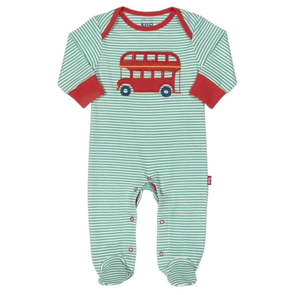 Kite Kids Kite Kids Schlafanzug/Strampler Bus Biobaumwolle