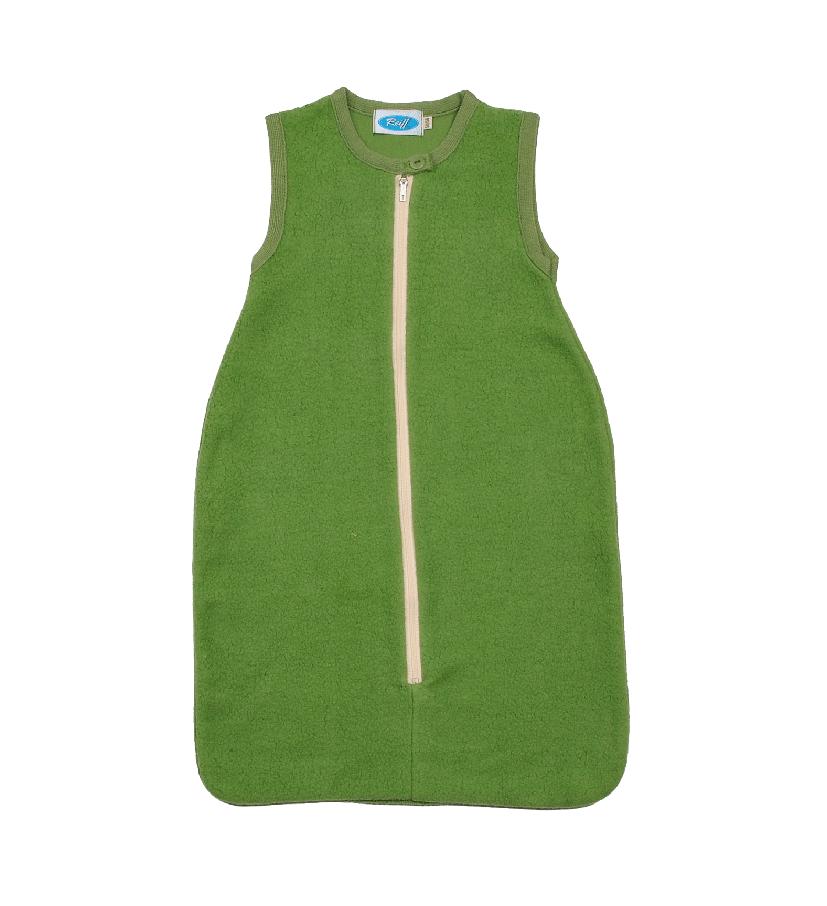 Reläx / Reiff Strick Schlafsack aus Bio Baumwollplüsch von Reläx