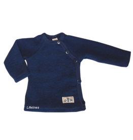 Lilano Lilano Schlüttli aus Wollfleece marine