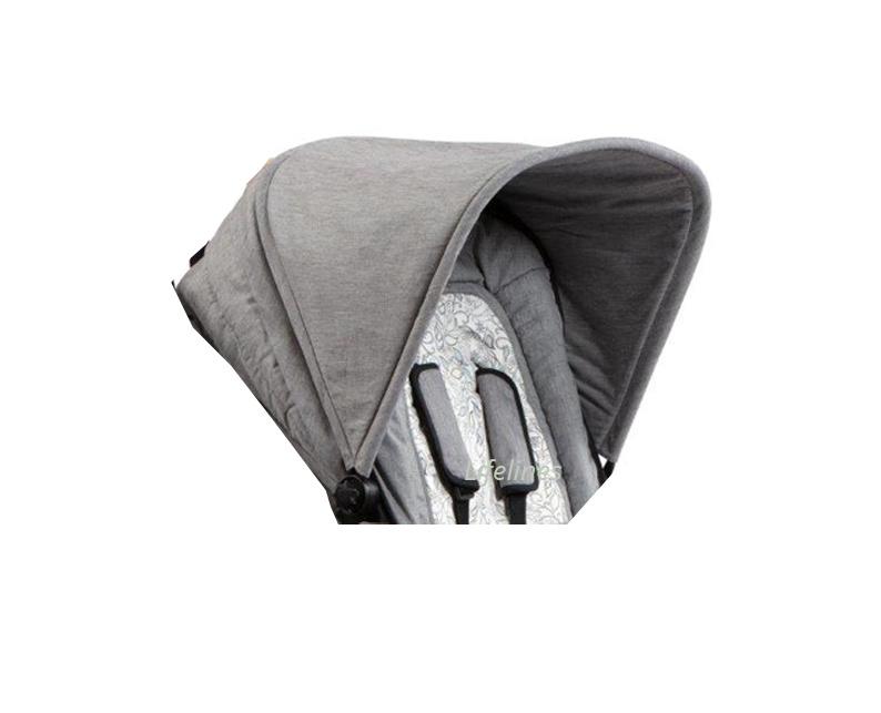 Naturkind Stoffbezug für Kinderwagendach Modell Lux