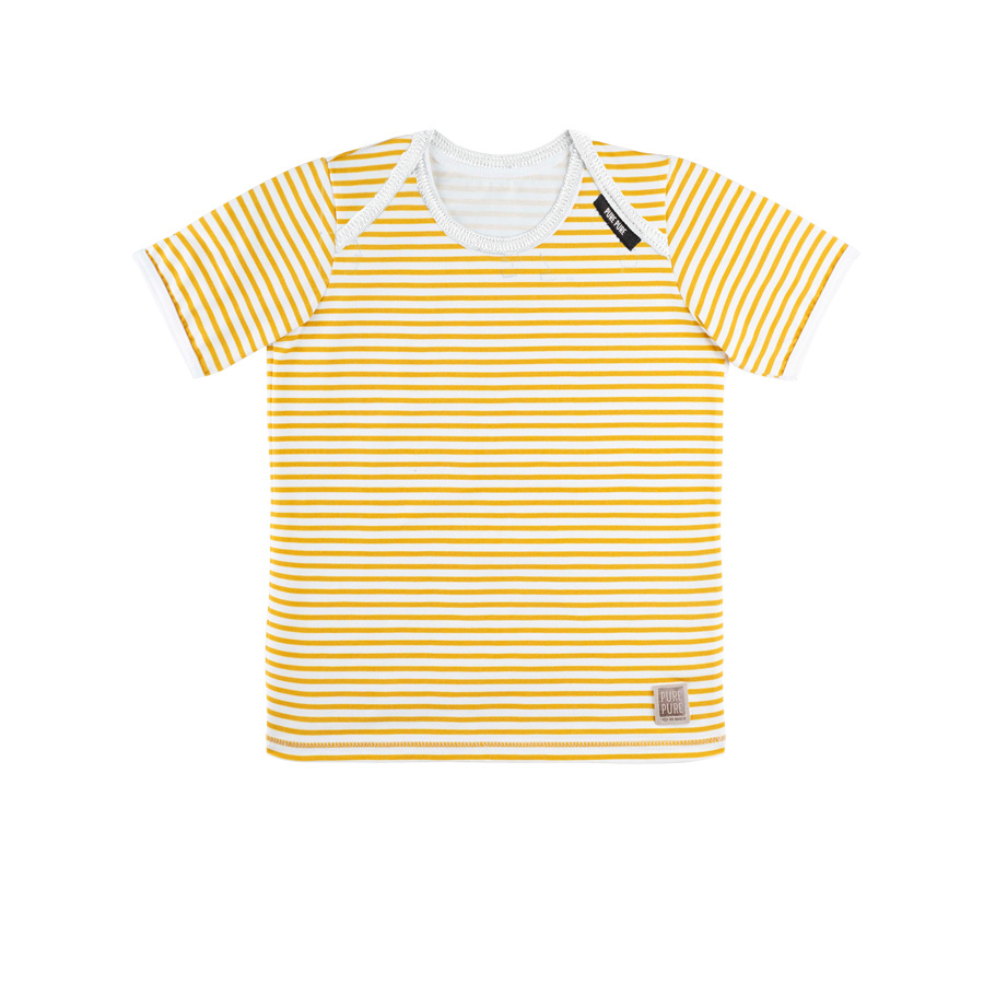 Pure Pure Pure Pure Baby T-Shirt Bio mango stripes