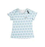 Pure Pure Pure Pure Baby T-Shirt Punkte blau Bio Baumwolle