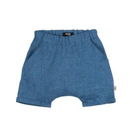 Pure Pure Pure Pure Baby- Leinenhose kurz blue