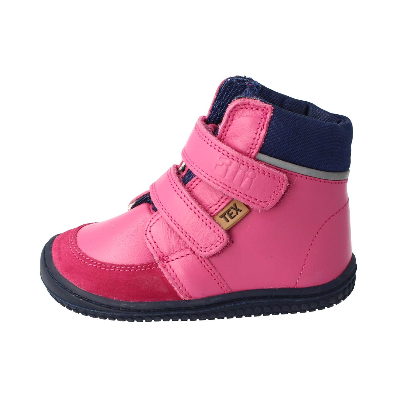 Filii Barefoot Filii Winterstiefel Himalaya, Wollfutter, pink