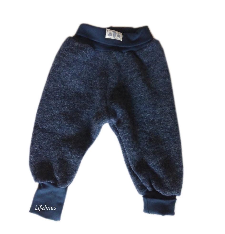 Lilano Lilano Babyhose aus grauem Wollfilz - Copy