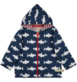 Loud & Proud Loud & Proud wasserabweisende  Outdoorjacke Haie marine